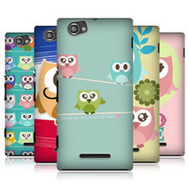 e_cell - Head Case Designs Kawaii Owl Series 1 Back Case FOR SONY XPERIA M C1905 C1904 | Technology Right At Your Doorstep | Scoop.it