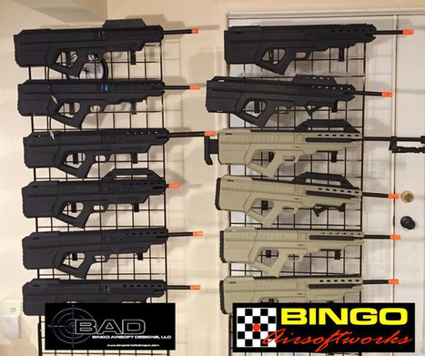 GUNS YOU CAN TRY at FULDA GAP….Bingo Airsoft Designs has been BUSY BUSY!   Airsoft Showoffs   Scoop.it