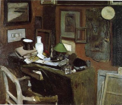 Oil painting reproduction: Henri Matisse Interior With A Top Hat 1896 - Artisoo.com | famous paintings gallery | Scoop.it