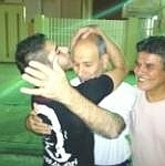 Picture of Younis Ashoori after release with his son....... | Human Rights and the Will to be free | Scoop.it