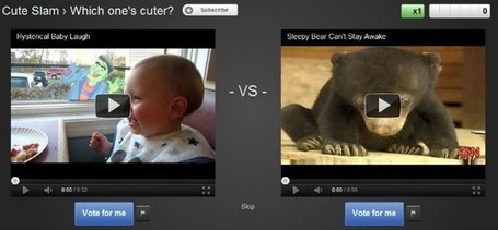 Google Unveils 'YouTube Slam', Now Compare Two Videos at a Time for One-on-One Battles | TechieApps | MobileandSocial | Scoop.it