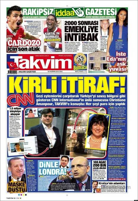 Christiane Amanpour Slams Turkish Newspaper For Fake Interview | The Unpopular Opinion | Scoop.it