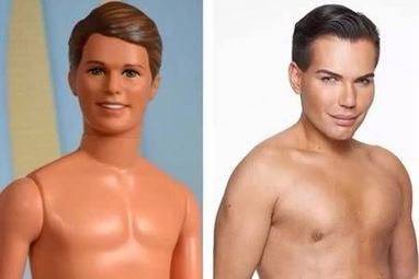 8 More of the Craziest Plastic Surgeries To Look Like Someone Else   Strange days indeed...   Scoop.it