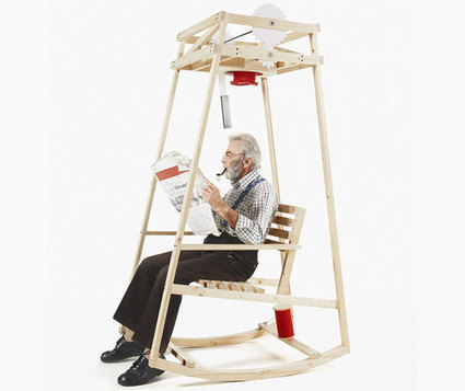 Un rocking-chair qui tricote pendant que vous lisez | Ca m'interpelle... | Scoop.it