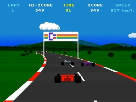 Un remake HD de Pole Position : Grand Prix - Zakstudio | Zakstudio | Scoop.it