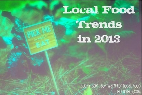 Trends for 2013 for the Local Food Movement | The Bucky Box Blog | Food And Beverage | Scoop.it