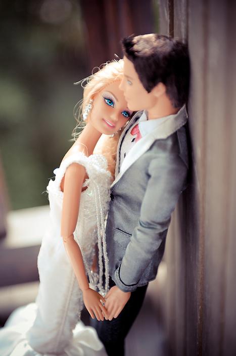 Rock n Roll Bride · Barbie & Ken Finally Get Married | Playscale Picks | Scoop.it