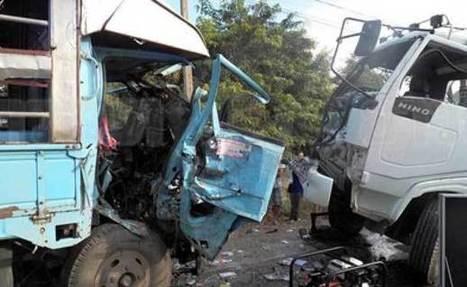 26 étudiants blessés dans une grave collision | Thailande Info | Scoop.it