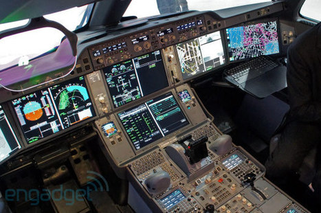 Airbus A350 cockpit tour with test pilot Jean-Michel Roy [VIDEO] | Tech Jam | Scoop.it