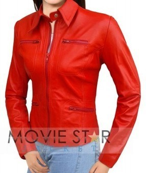 Once Upon A Time Emma Swan Red Jacket | moviestarjacket | Scoop.it