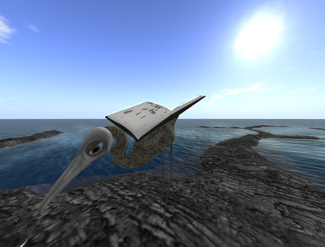 Honour's Post Menopausal View: A Very Windy Aerie in Second Life | Metaverse NewsWatch | Scoop.it