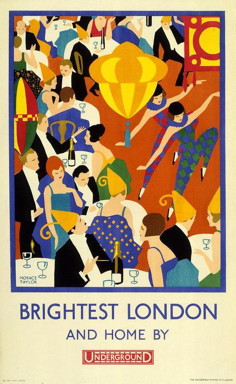 Collection & Exhibition: London Underground Poster Art 150. | Arts Web | Scoop.it