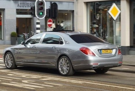 Mercedes-Maybach S-Class Caught on Camera - SpeedLux | Technology | Scoop.it