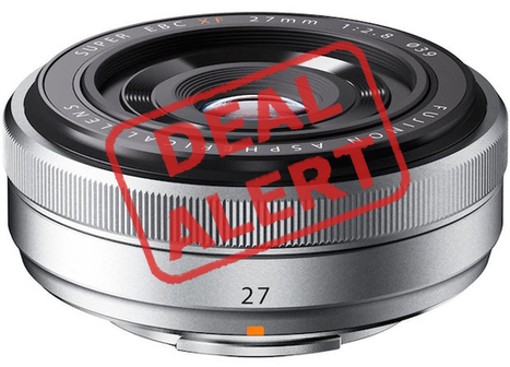 Deal Alert: Fuji XF 27mm f/2.8 for Only $200 ($250 Off) Plus Other Great Deals - PetaPixel | Fuji X | Scoop.it