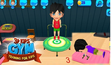 3D Kids Gym Training For Kids Android Games App Source Code | Mobile App Source Code | Scoop.it