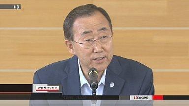 [Eng] Interview de M. Ban au micro de la NHK | NHK WORLD French | Japon : séisme, tsunami & conséquences | Scoop.it