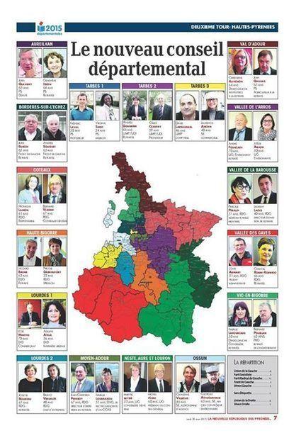 Le nouveau conseil départemental des Hautes-Pyrénées | Facebook | Vallée d'Aure - Pyrénées | Scoop.it