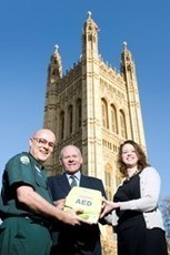 London Ambulance Service - Parliament receives lifesaving equipment | First Aid Training | Scoop.it