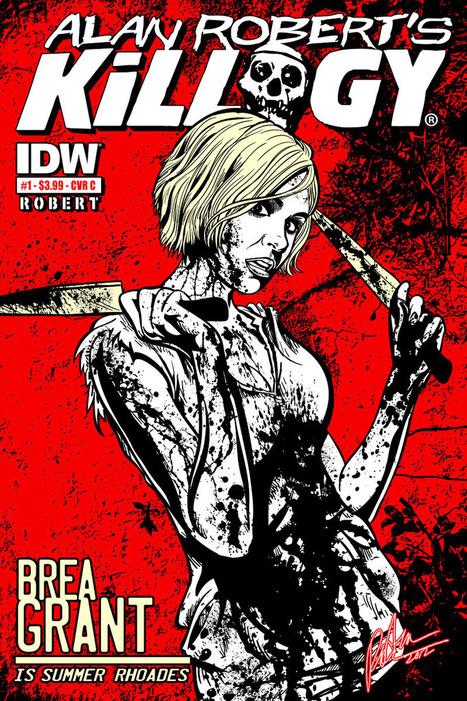 Exclusive Announcement: IDW's KILLOGY Casts Familiar Faces | VI Geek Zone (GZ) | Scoop.it