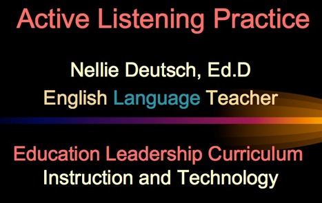 Are you listening? | eduMOOC 4 ALL | Scoop.it