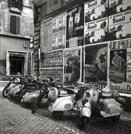 La Dolce Vespa: 1955 | Vespa Stories | Scoop.it