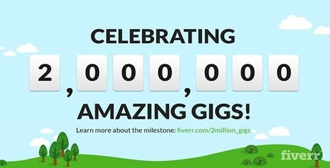 [INFOGRAPHIC] Fiverr Community Milestone: Two Million Reasons To Celebrate #IamFiverr - Official Fiverr Blog   Microvolunteering   Scoop.it