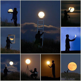 Fun With Moon-Amazing Optical Illusions | The brain and illusions | Scoop.it