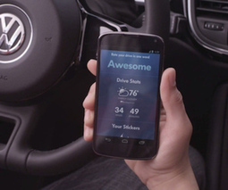 Volkswagen wants to turn your road trip into a game | Training and Games | Scoop.it