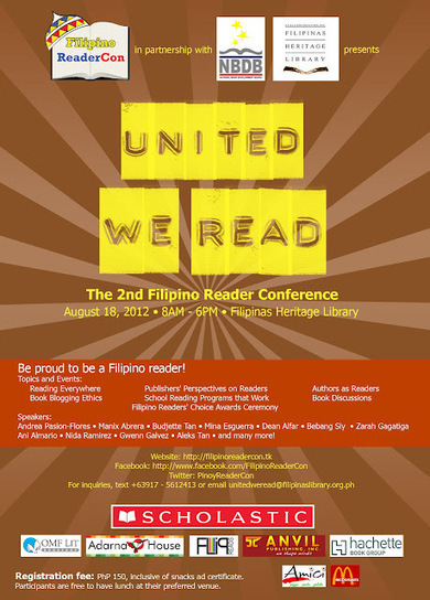 School Librarian in Action: Filipino ReaderCon: United We Read | The Reading Librarian | Scoop.it