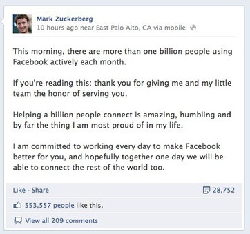 Facebook: A Million Faces or a Million Fakes? | Business in a Social Media World | Scoop.it