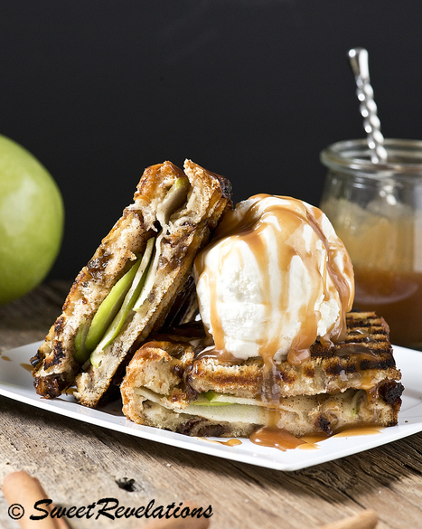Apple Pie Dessert Panini with Salted Caramel | Passion for Cooking | Scoop.it