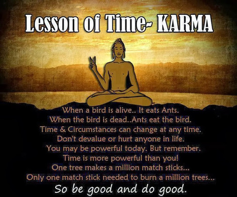 12 Little Known Laws of Karma (That Will Change Your Life) | anger management | Scoop.it