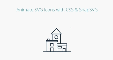 Animate SVG Icons with CSS & SnapSVG by CodyHouse | Free Resources for Designer | Scoop.it