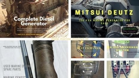 Engine Room Ship Machinery Supplier | Marine Engines Motors and generators | Scoop.it