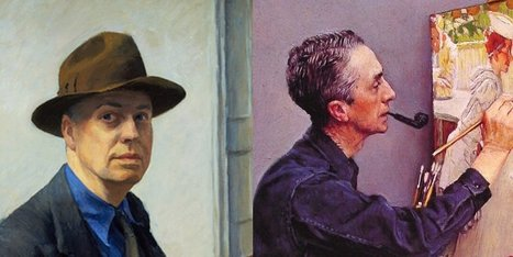 Comparing Hopper and Rockwell (Both and whereas) | Mrs. B's fav. teaching tools | Scoop.it