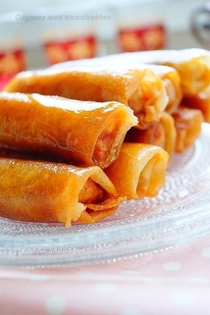 Cigares aux cacahuètes facile / Ramadan 2016 | Gâteaux algériens modernes & traditionnels | Scoop.it