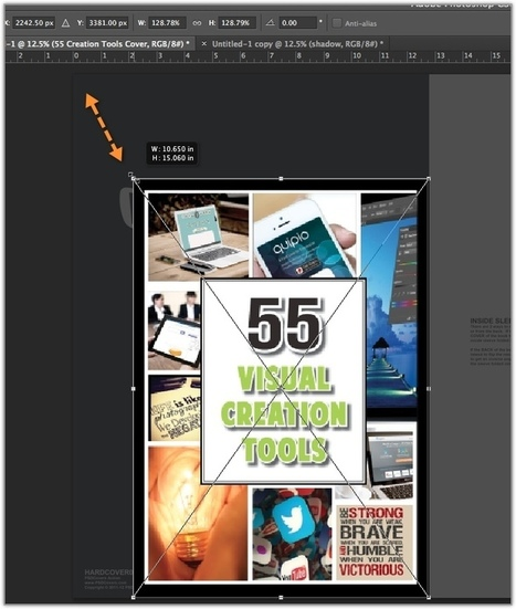 Make A Professional Ebook Cover In 5 Minutes Using Free Photoshop Actions — Better Blog Images | Bullish Ink: Write Fiction Right | Scoop.it