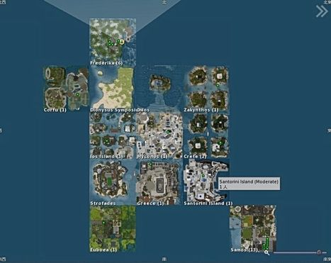 Greek island sims to Close! - second Life   Second Life and other Virtual Worlds   Scoop.it