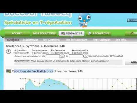 Comment Faire De La Veille Sur Internet Avec Docteur Tweety? – Vidéo | Emarketinglicious.fr | Outils de veille - Content curator tools | Scoop.it