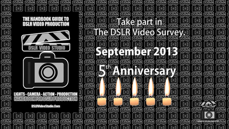 Take part in The DSLR Video and filmmaker 2013 Survey | DSLR video and Photography | Scoop.it