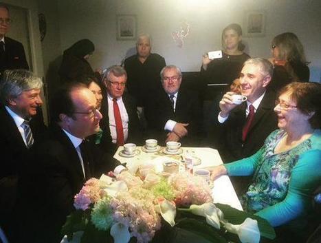 Hollande en visite chez l'habitant : l'Élysée pris en flagrant délit de mise en scène | Pour une démocratie collaborative | Scoop.it