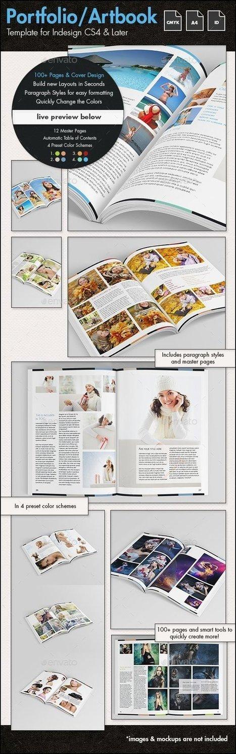 Portfolio / Photofolio / Artbook Template r2 - A4 | About Design | Scoop.it