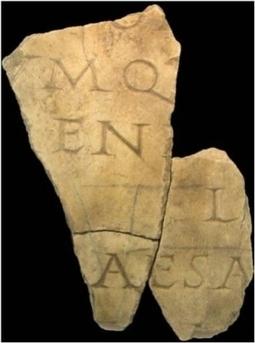 Le Creusot : Qui pourra déchiffrer cette inscription antique ?   Clic France   Scoop.it