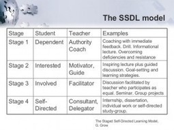 The Four Stages Of The Self-Directed Learning Model | soul rebels | Scoop.it