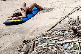 Rubbish tsunami swamps Bali beachfront | Year 9 Humanities | Scoop.it