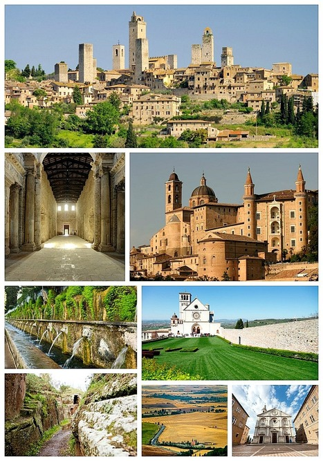 7 UNESCO World Heritage Sites in Central Italy | World Heritage Sites Year 7 Geography | Scoop.it