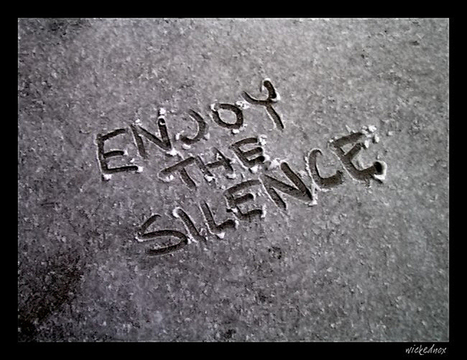 Enjoy the Silence | DESARTSONNANTS - CRÉATION SONORE ET ENVIRONNEMENT - ENVIRONMENTAL SOUND ART - PAYSAGES ET ECOLOGIE SONORE | Scoop.it
