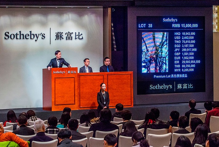 Sotheby's Beijing Autumn Sale of Modern & Contemporary Chinese Art achieves US$9.9 million | Art Daily | Asie | Scoop.it