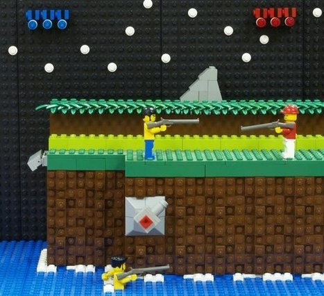 10 Awesome Game Scenes Recreated With LEGO   Info Junkie   Scoop.it