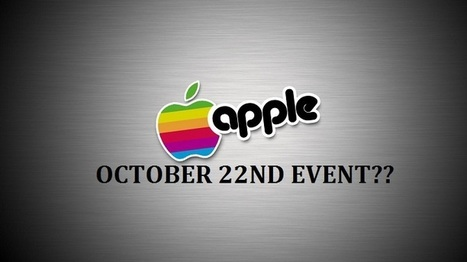 What to Expect from Apple's October 22nd Event   Technology News   Scoop.it